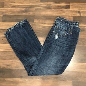 32x30 American Eagle Slim Fit Straight Leg Jeans